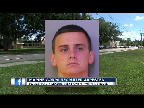 Marine Corps recruiter arrested