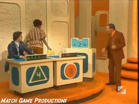 Match Game 77 (Episode 1118) (Mary Ann Mobley's Big Kiss)