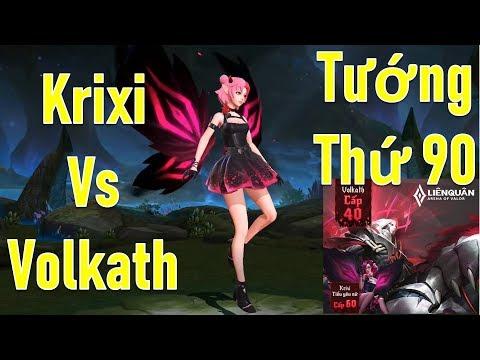 Sổ Sứ Mệnh Mùa 10 Tướng Volkath Và Krixi Tiểu Yêu Nữ Liên quân mobile