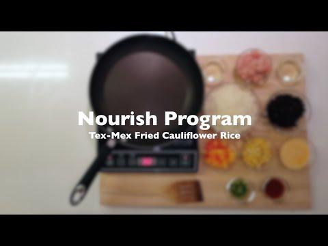 Thumbnail to launch Fried Cauliflower Rice: Nourish Program video