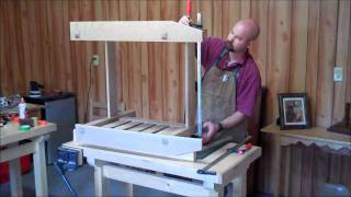 Morris Chair 09 - Joining The Sides.wmv