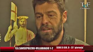 Serie D Girone D V.A.Sansepolcro-Villabagio 1-2
