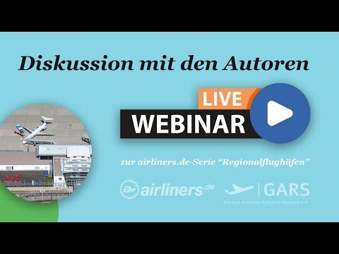 """airliners.de-Live-Webinar """"Regionalflughäfen"""""""