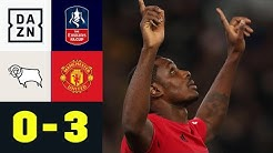 Ighalo lässt Rooney und Co. blass aussehen: Derby - Man United 0:3 | FA Cup | DAZN Highlights