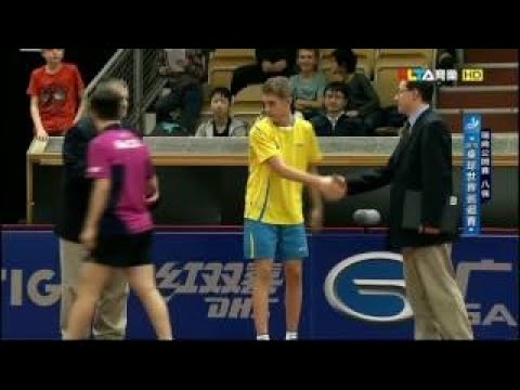 Swedish Open 2015 Highlights: KALLBERG Anton vs FAN Zhendong (1/4)