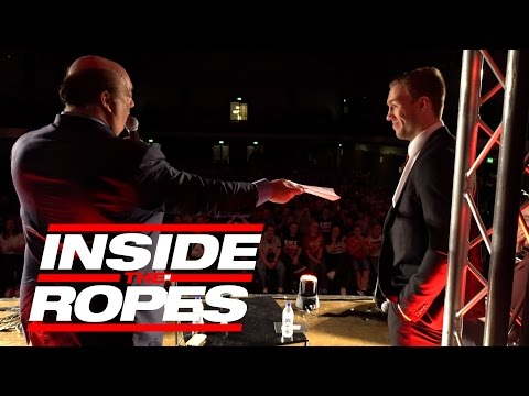 Paul Heyman offers Will Ospreay an Evolve Wrestling Contract