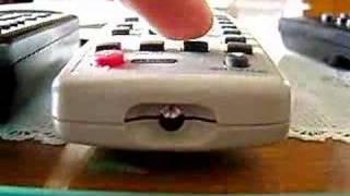 dálkový ovladač - remote driver