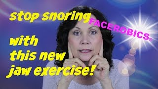 Stop Snoring - Get a Chiseled Jawline for Men - Get Rid of Double Chin Fat | FACEROBICS®
