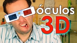 Aprenda como fazer óculos 3D em casa