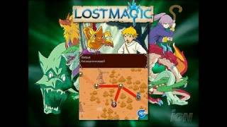 Lost Magic Nintendo DS Trailer - Lostmagic Trailer