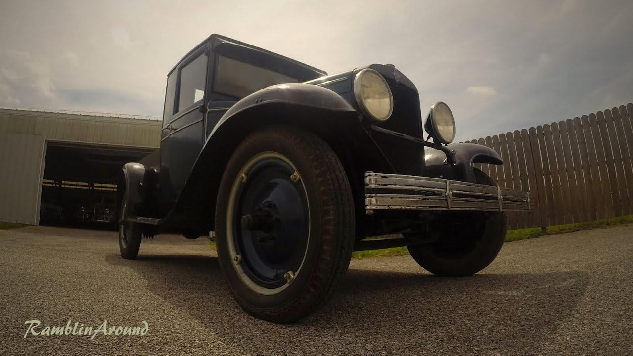 1929 Chevy Pickup 194 Cubic Inch Stovebolt Six - YouTube