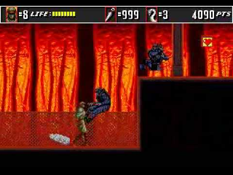 Super Shinobi 2 (Shinobi 3) Beta - 1992 - Level 1