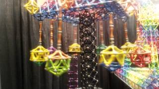 Magnetic construction set from Goobie Toys at Toy Fest West 2015
