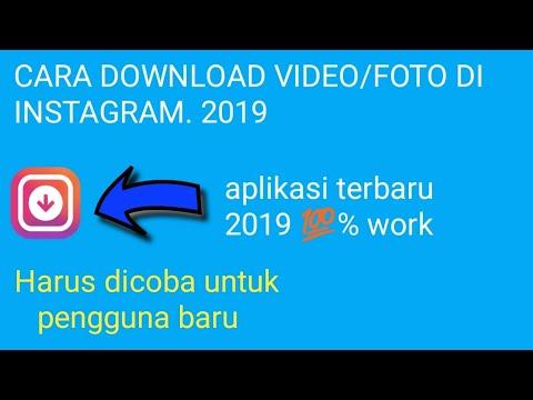 Aplikasi download video dan foto di INSTAGRAM