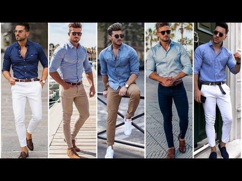 Blue Shirt   Blue Shirt Outfits Ideas For Men   Men's Blue Shirt Outfits   Mens Fashion & Style 2020
