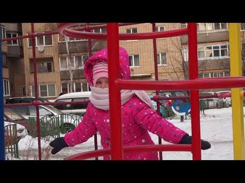 На улице холодно,но мы гуляем.....Видео Нусратуллина Ф.Г.