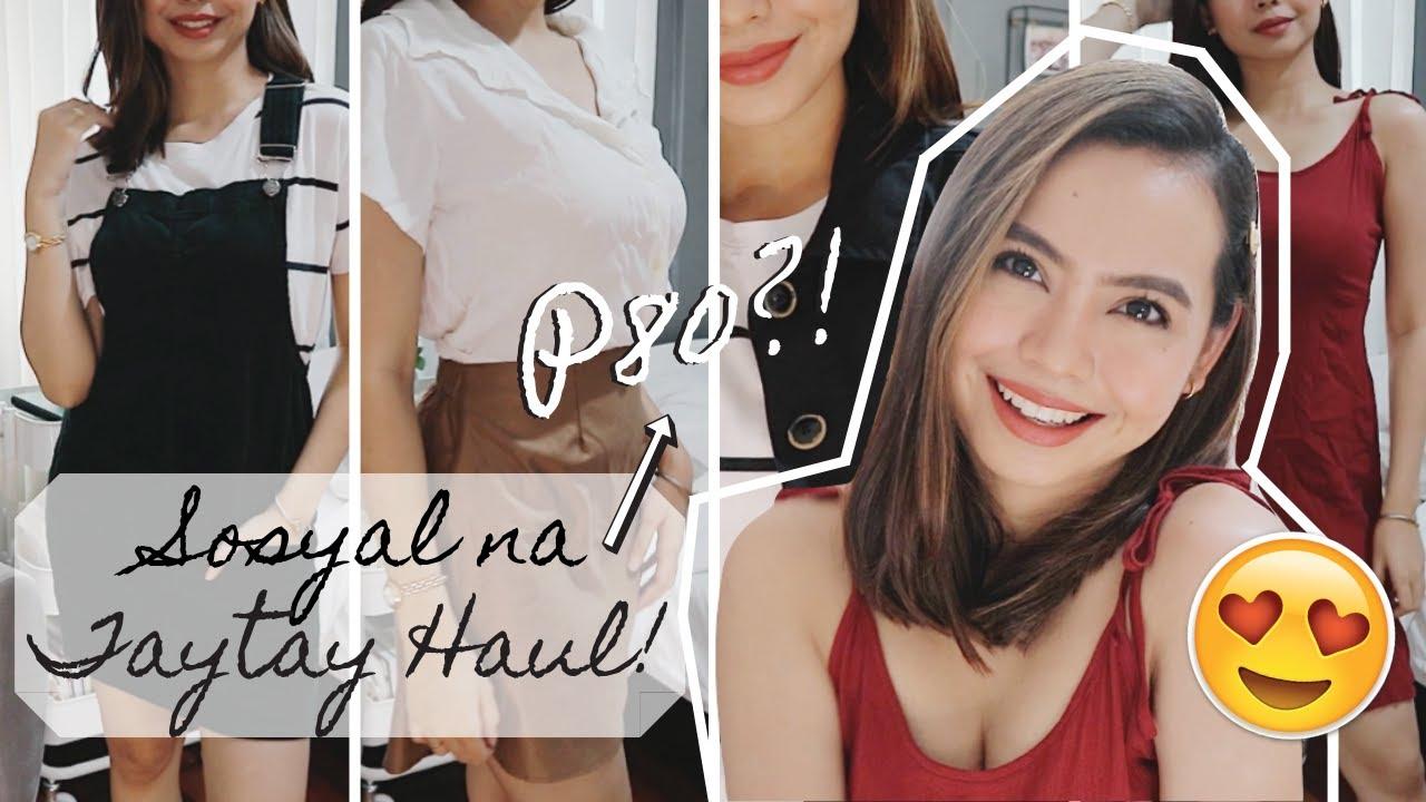 Taytay Try-On Haul 2019: SOSYAL PERO P80 LANG!! ❀ Micah Louisse