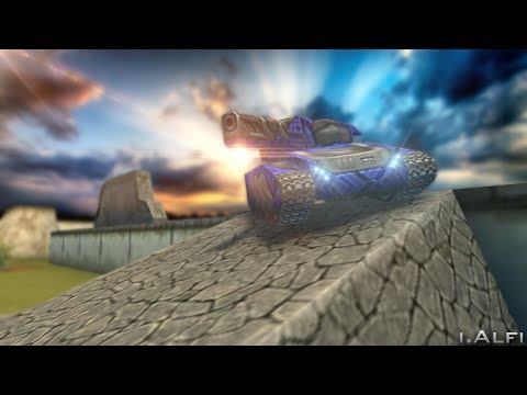Tanki Online || Photoshop CC || SpeedArt #1 || By I.Alfi