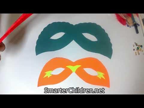 DIY Eye Masks for kids