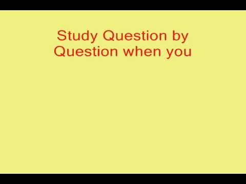 Free permit study guide florida