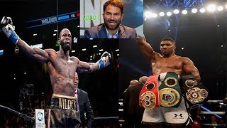 BREAKING NEWS: EDDIE HEARN DOESN'T FORESEE WILDER VS JOSHUA IN 2019, 2020 MORE LIKELY SAY'S HEARN !