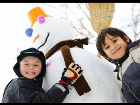 Active Snow Play Suggestions for School-Aged Kids