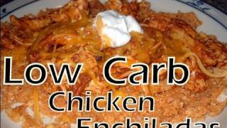 Atkins Diet Recipes: Low Carb Enchiladas And Faux Spanish Rice (if)