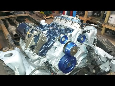 FORD 6.0L Diesel ~Failed BlackWater Engine ReBuild in HyperSpeed at SuperDutyService