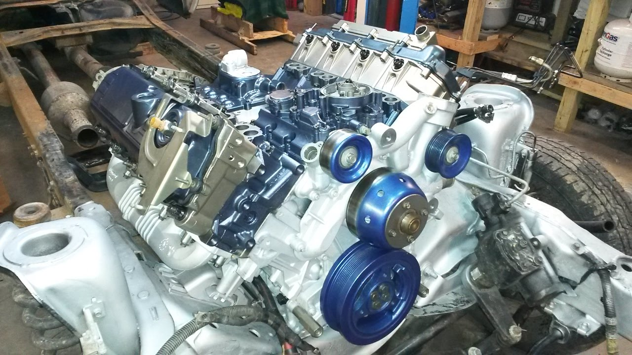 Ford 6 0l diesel failed blackwater engine rebuild in hyperspeed at superdutyservice youtube