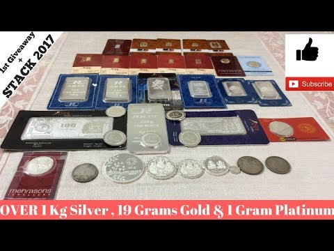 Gold,Silver & Platinum Stack Unleashed [India Giveaway 2017]