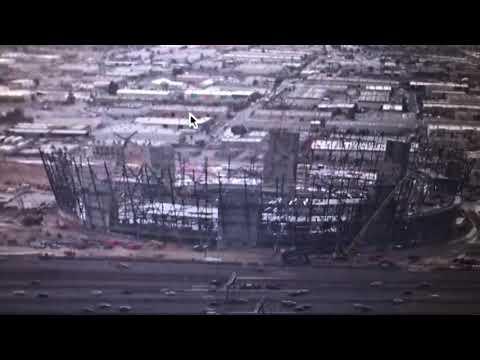 Las Vegas Stadium Gets Snow And Rain Again