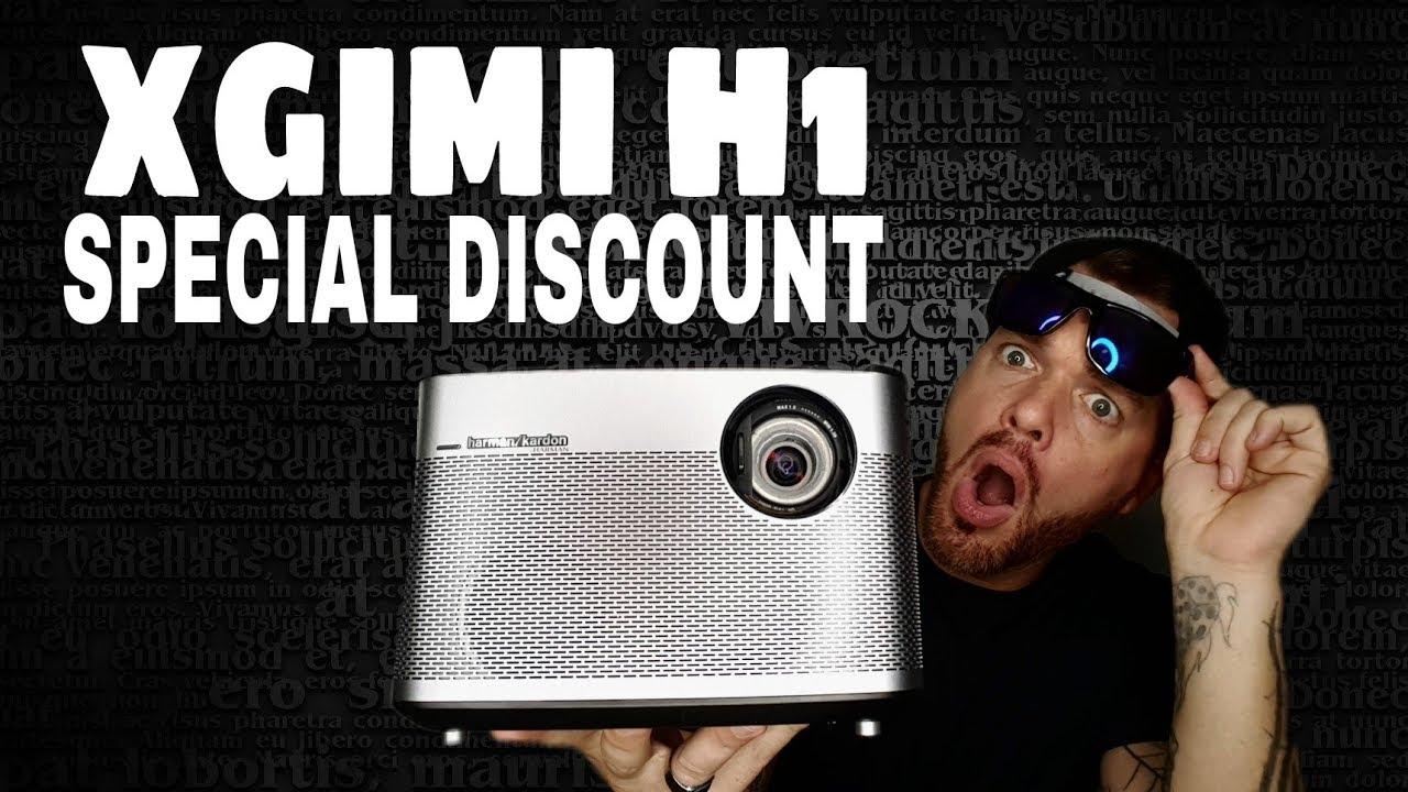 Biggest Discount Yet Xgimi H1 Harman Kardon Special