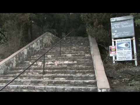 Austin, Texas Tourism : Austin Tourism: Mount Bonnell Part 1