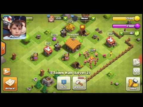 Mea First Video Clash Of Clans A Giant!