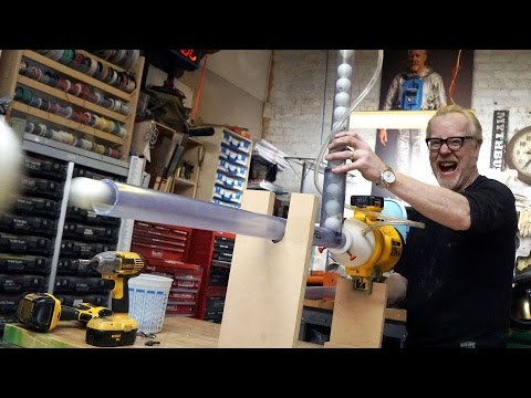 Adam Savage's One Day Builds: Ping Pong Machine Gun!