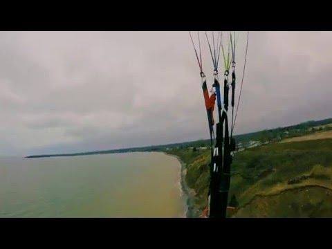 Paragliding Lowbanks - Lake Erie