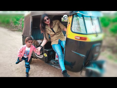 छोटू और रिक्शा वाली | CHOTU AUR RIKSHA WALI | Khandesh Hindi Comedy | Chotu Comedy Video