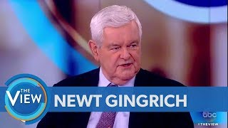 Newt Gingrich On The Best And Worst Things Trump Has Done In Office | The View thumbnail
