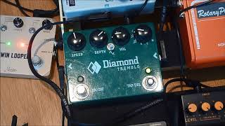 Electric violin effects pedal reviews - Diamond Pedals Tremolo