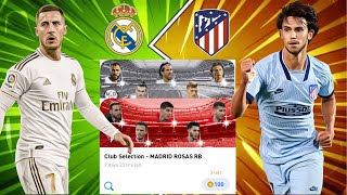 Real Madrid & Atletico Madrid Club Selection Pack Opening - Pes 2020 Mobile