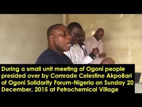 Ogoni Ethnic Nationality Anthem with AkpoBari Celestine Leading