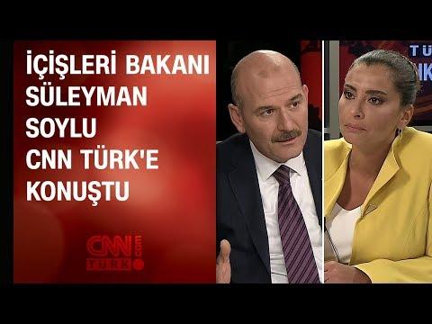 İçişleri Bakanı Süleyman Soylu CNN...