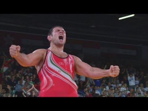 Iran v USA Freestyle Wrestling 120kg Bronze Medal Bout - London 2012 Olympics Travel Video