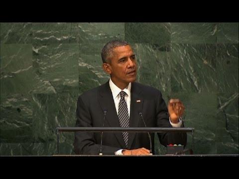 """Obama pide un acuerdo mundial """"fuerte"""" sobre el clima en París"""