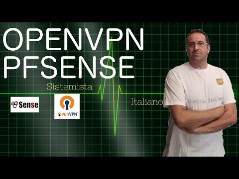 [RETI][CLOUD][AWS] - #70 Creare server Openvpn con PfSense