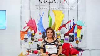 مايومي Takushi في Createx - دورة تقنية الاستنسل