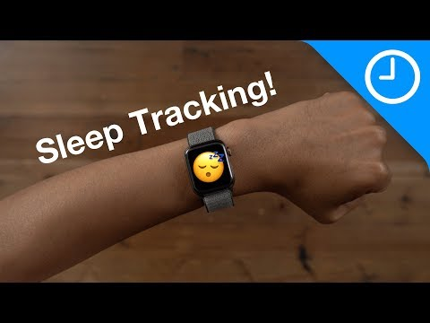 Sleep tracking is coming to Apple Watch