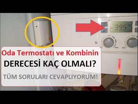 Oda Termostatı Nasıl Çalışır? Kombi Nasıl Az Yakar? Günde 5 m3 Gaz Nasıl Yaktırılır?