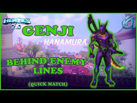 Grubby | Heroes of the Storm 2.0 - Genji - Behind Enemy Lines - Hanamura