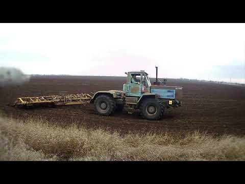 Культивация пахоты.выравнивание почвы.28.01.2020